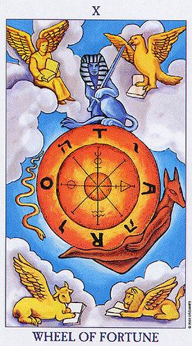 wheel of fortune. radiant rider waite